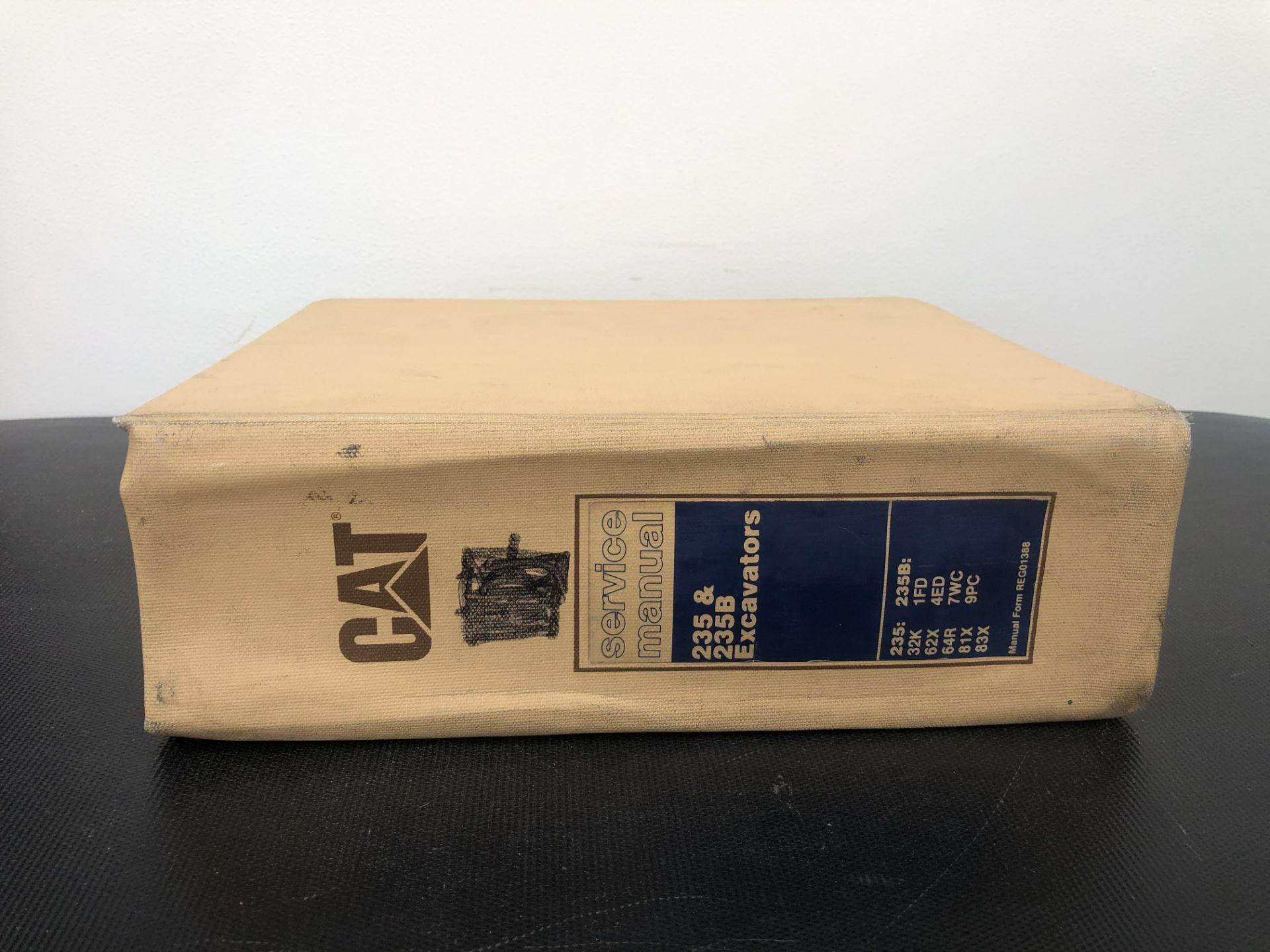 CATERPILLAR 235 235B BOOK 2 SERVICE MANUAL, GENUINE FACTORY CAT WORKSHOP MANUAL