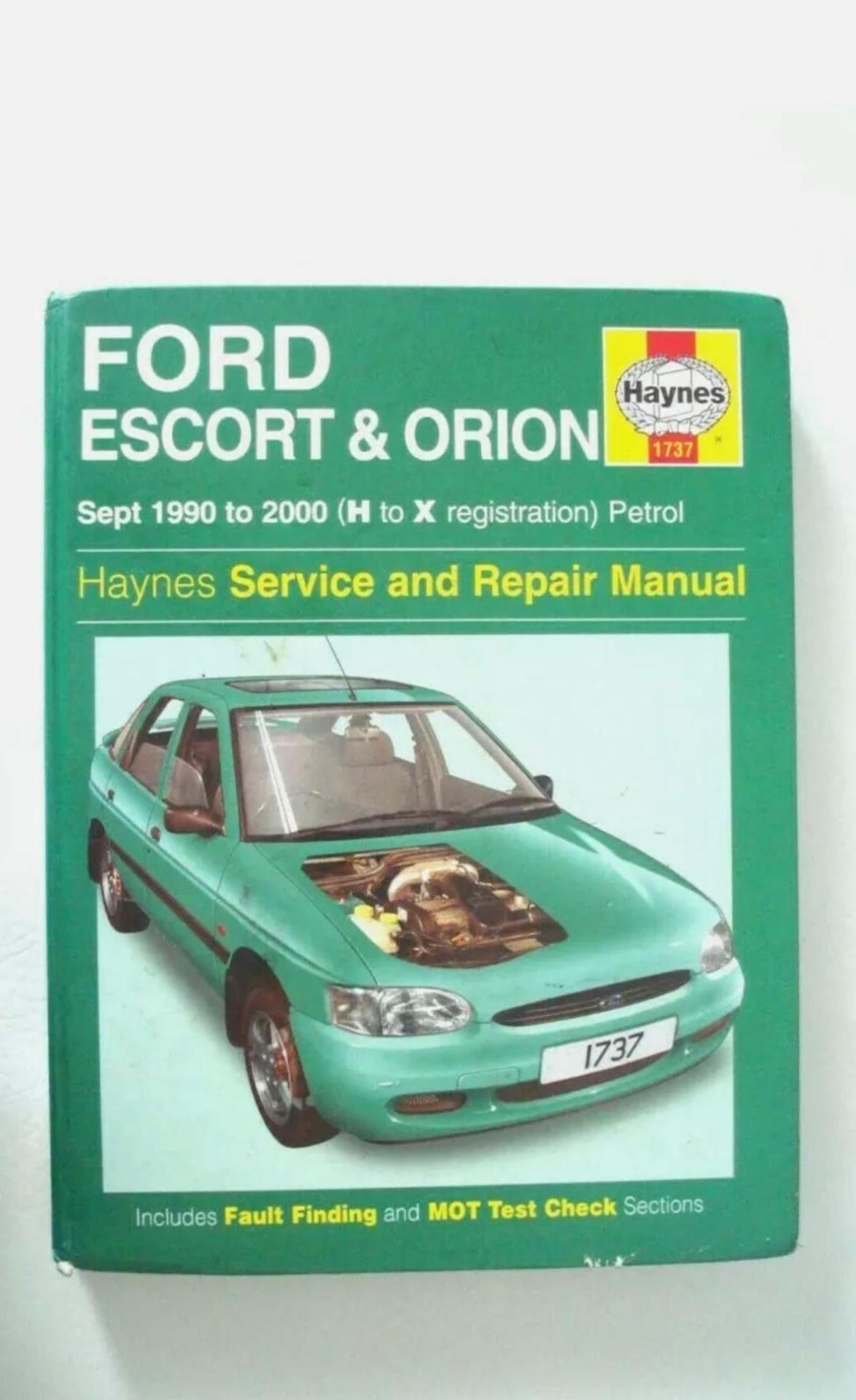 1992 FORD ORION LX AUTO, GREY, PETROL, AUTO VARIABLE 1 GEARS, 4 PREVIOUS KEEPERS, NO VAT - Image 6 of 8