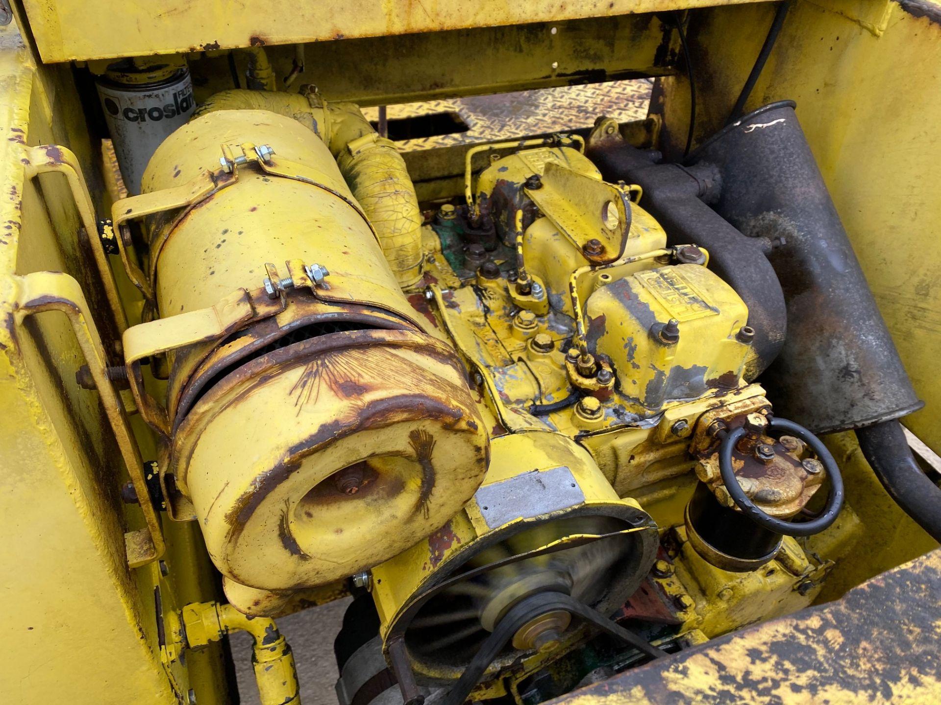 Thwaites 4 ton dumper, 4x4, electric start, Roll bar, 3 cylinder Lister Petter engine - Image 5 of 5