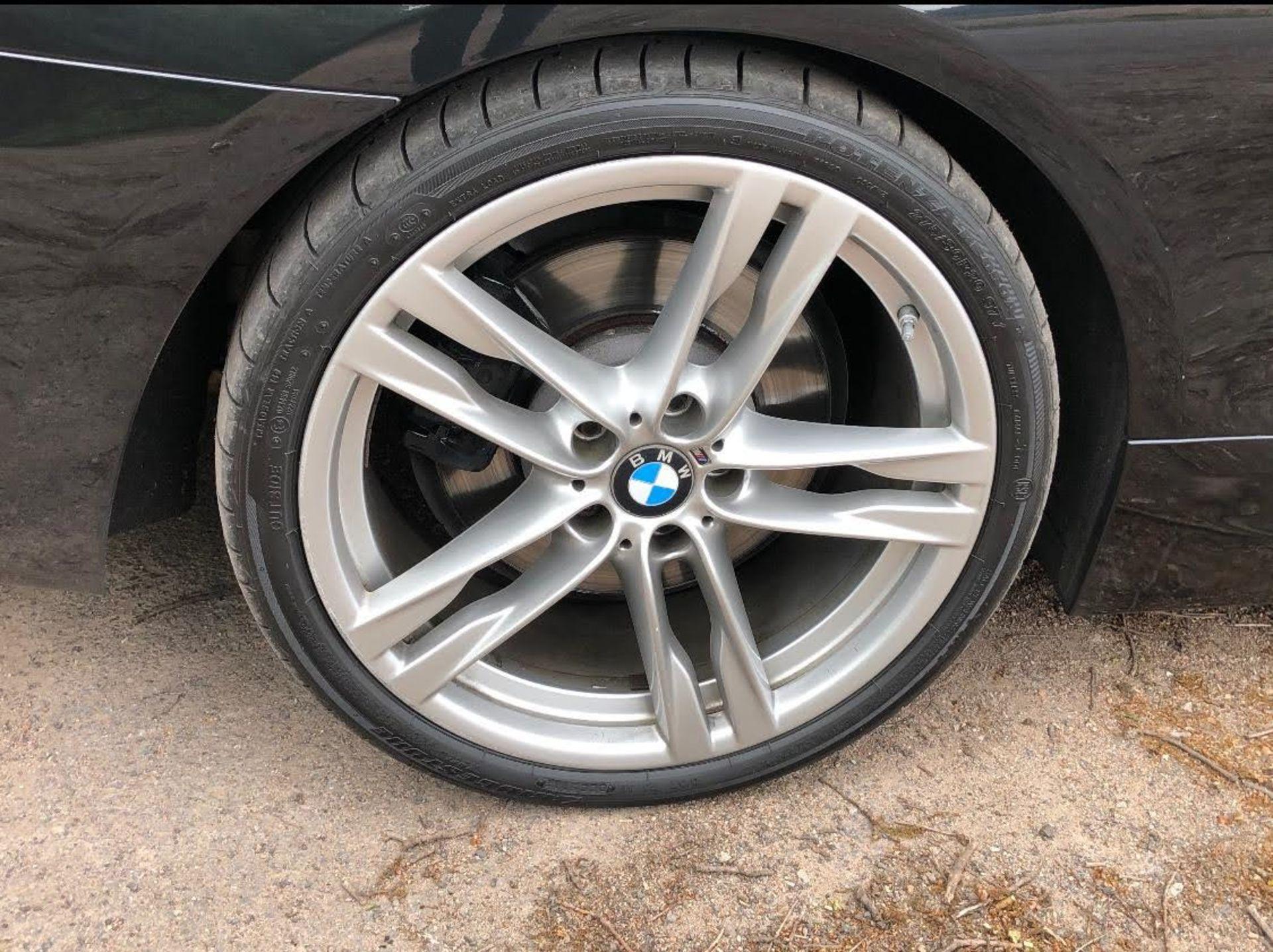 2014/14 REG BMW 640D M SPORT AUTOMATIC 3.0 DIESEL BLACK CONVERTIBLE *NO VAT* - Image 8 of 17