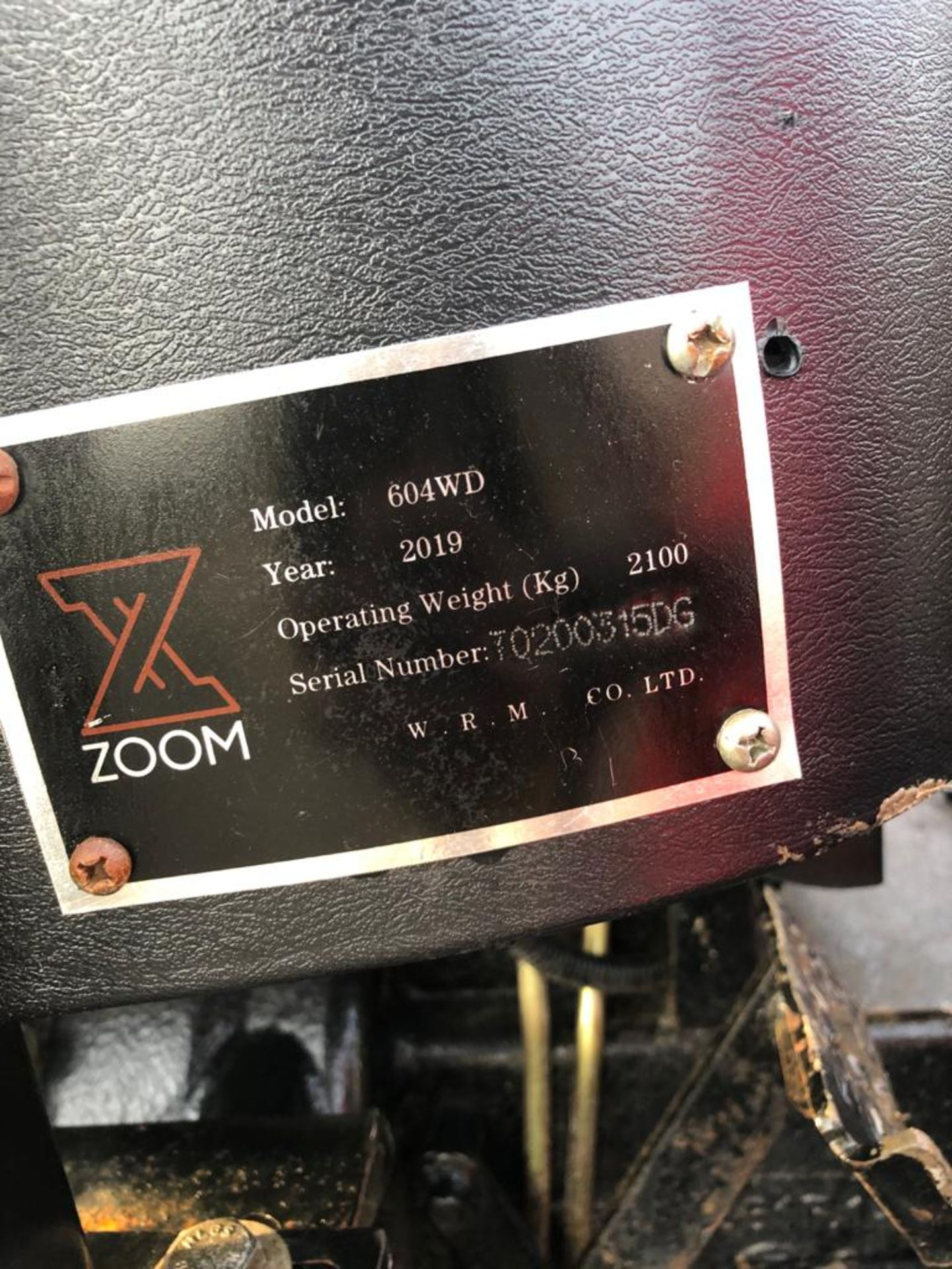UNUSED ZOOM 604 4WD TRACTOR *PLUS VAT* - Image 6 of 9