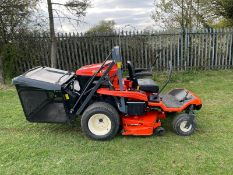 2018 KUBOTA GZD21 ZERO TURN MOWER, RUNS DRIVES AND CUTS, HIGH TIP COLLECTOR *PLUS VAT*