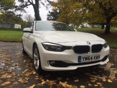 2015/64 REG BMW 316D SE AUTOMATIC 2.0 DIESEL WHITE ESTATE, SHOWING 1 FORMER KEEPER *NO VAT*