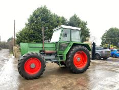 FENDT FAVORIT 611 LS TURBOMATIK, RUNS AND DRIVES *PLUS VAT*