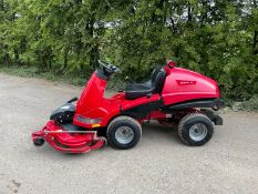 COUNTAX X15 RIDE ON MOWER, RUNS DRIVES AND CUTS, HYDROSTATIC, 3 BLADE DECK *NO VAT*
