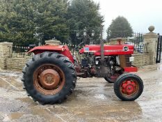 MASSEY FERGUSON 178 TRACTOR, RUNS AND DRIVES *PLUS VAT*
