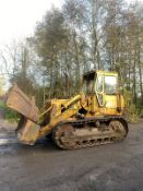 CATERPILLAR 951C DOZER/DROTT, RUNS, DRIVES AND LIFTS, 4 IN 1 BUCKET *PLUS VAT*