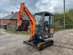 2007 DOOSAN SOLAR 018 MINI DIGGER, LINDE TERBERG KINGLIFTER MOUNTING FORKLIFTS, FORD 5610 TRACTOR, MERCEDES ATEGO AND MORE ENDS 11am SATURDAY!