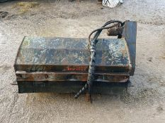 Avant Rotavator, Came Of An Avant Skidsteer Loader, Hydraulic Driven *Plus VAT*