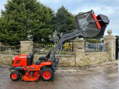 2013/62 KUBOTA G23-II HD RIDE ON MOWER, RUNS, DRIVES, CUTS, HIGH TIP DUMP *PLUS VAT*