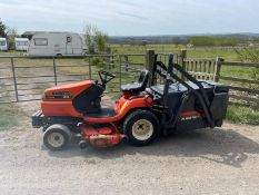 KUBOTA G18 RIDE ON MOWER,RUNS DRIVES AND CUTS,ONLY 623 HOURS,3 CYLINDER KUBOTA DIESEL ENGINE *NO VAT