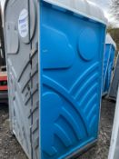 DS - PORTALOO TOILET BLOCK *PLUS VAT*