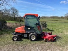 KUBOTA F3680 OUTFRONT RIDE ON MOWER, RUNS DRIVES AND CUTS, HYDROSTATIC *PLUS VAT*
