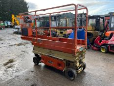 2016 JLG 1930ES ELECTRIC SCISSOR LIFT, LOW 124 HOURS *PLUS VAT*