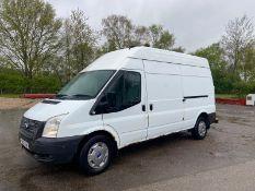 2012 FORD TRANSIT 100 T350 RWD WHITE PANEL VAN, 136K MILES, 2.2 DIESEL ENGINE *PLUS VAT*