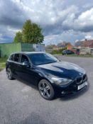 2011 BMW 120D SPORT BLACK 5 DOOR HATCHBACK, 2.0 DIESEL ENGINE, BLUETOOTH, AUX, CRUISE CONTROL*NO VAT