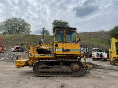 TRACK MARSHALL 135 DOZER DROT, 3781 HOURS, REAR ARMS WITH 3 POINT LINKAGE, RUNS DRIVES AND LIFTS
