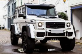 2016 MERCEDES-BENZ BRABUS G500 4x4 SQUARED G WAGON SUV WITH LOW ORIGINAL MILES *PLUS VAT*