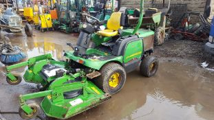 2006 JOHN DEERE 1545 RIDE ON LAWN MOWER, EX GATESHEAD COUNCIL *PLUS VAT*