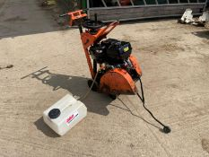 SAINT GOBAIN CS451 FLOOR SAW, RUNS AND WORKS, HONDA GX390 ENGINE, C/W TANK *NO VAT*