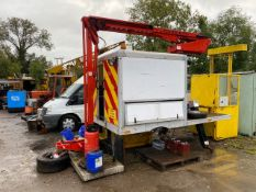 2009 Powered Access 14.5 meter cherry picker, will suit 7.5 ton truck. Runs off 24v electric