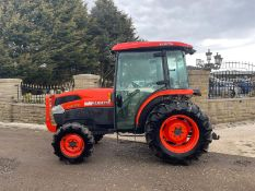 2013 KUBOTA L4240 TRACTOR, RUNS AND DRIVES, 3 POINT LINKAGE, FULLY GLASS CAB *PLUS VAT*