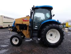 2003 NEW HOLLAND TS100A TRACTOR WITH MOWER ATTACHMENT, 4.5 LITRE 100HP TURBO DIESEL *PLUS VAT*