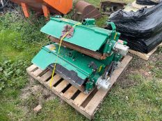 SET OF RANSOMES METEOR FLAIL HEADS FOR A RANSOMES HIGHWAY MOWER, GOOD FLAILS *PLUS VAT*