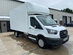 2020 FORD TRANSIT 350 LEADER ECOBLUE LUTON VAN, 100,000 PIECES OF KN95 MEDICAL FACE MASKS, KUBOTA TRACTOR, MOUNTFIELD MOWER! ENDS 7PM TUESDAY!