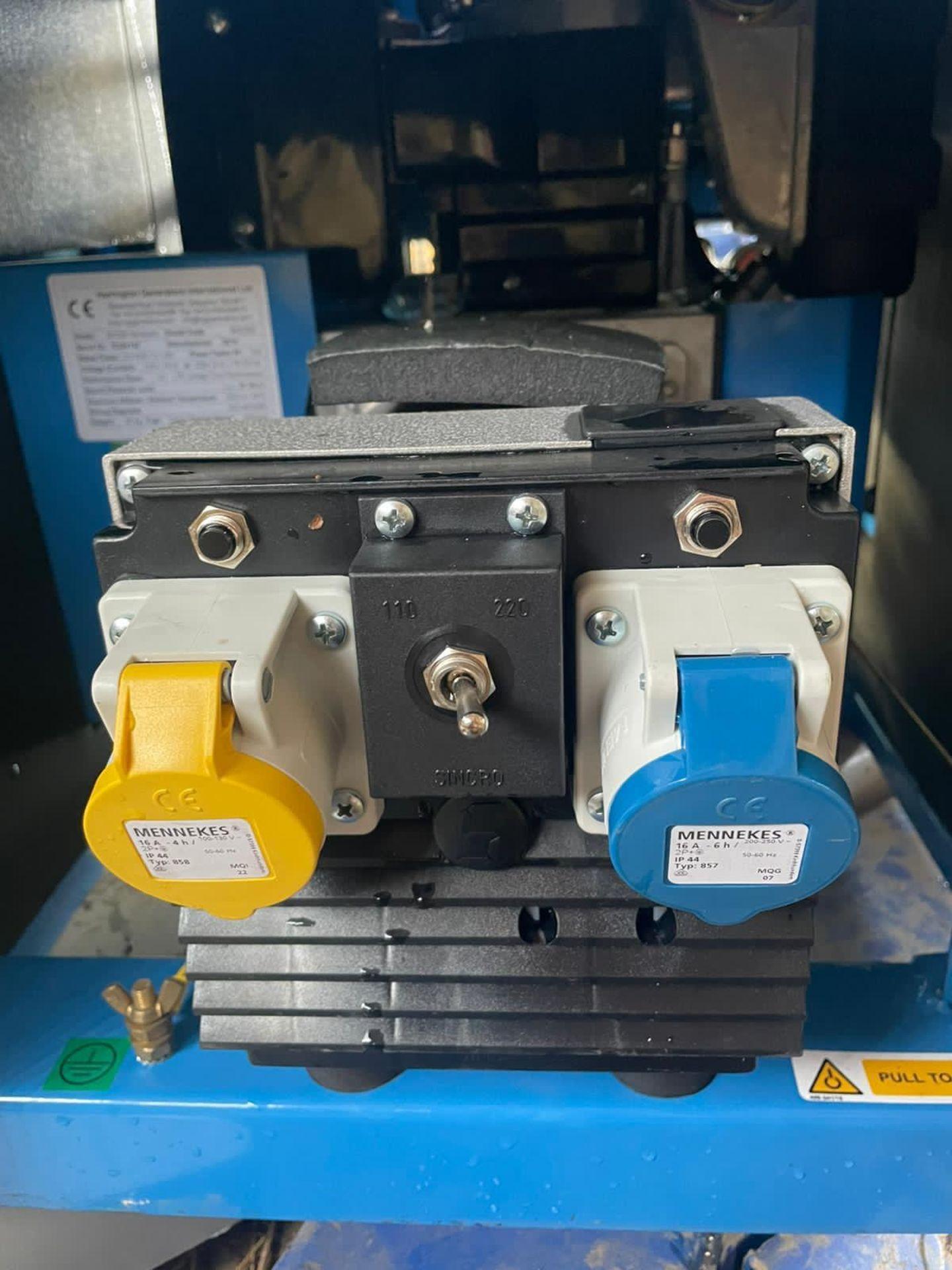 NEW AND UNUSED HARRINGTON 2.6KvA DIESEL GENERATOR, LOMBARDINI DIESEL ENGINE, 115V OR 230V *PLUS VAT* - Image 5 of 5