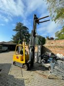 CLIMAX EC25 ELECTRIC FORKTRUCK, 72V BATTERY PACK IN GOOD ORDER AND DOES CHARGE FULLY *PLUS VAT*