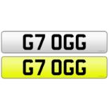 G WAGON NUMBER PLATE G7 OGG FEES PAID G63 G55 G500 GWAGON AMG MERCEDES *NO VAT*