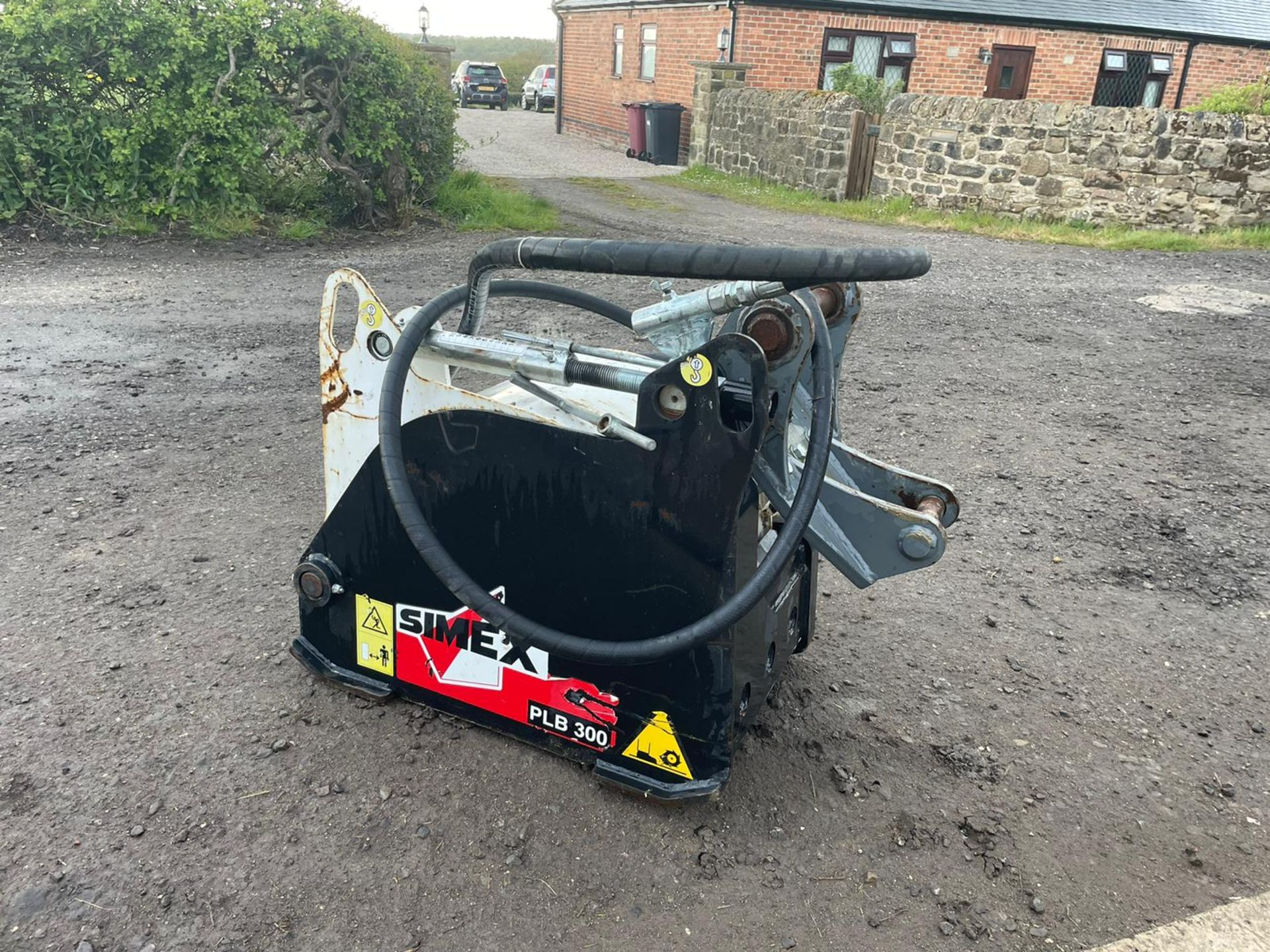 2011 SIMEX PLB 300 ROAD PLANER,HYDRAULIC DRIVEN, NOT DONE MUCH WORK, SUITABLE FOR EXCAVATOR PLUS VAT