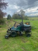 HAYTER LT324 RIDE ON LAWN MOWER, RUNS DRIVES AND CUTS, 4 WHEEL DRIVES, COMES WITH LOGBOOK *NO VAT*
