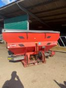 KUHN GLB1400 FERTILISER SPREADER SPINNER, IN WORKING CONDITION, COMES WITH PTO READY TO USE *NO VAT*