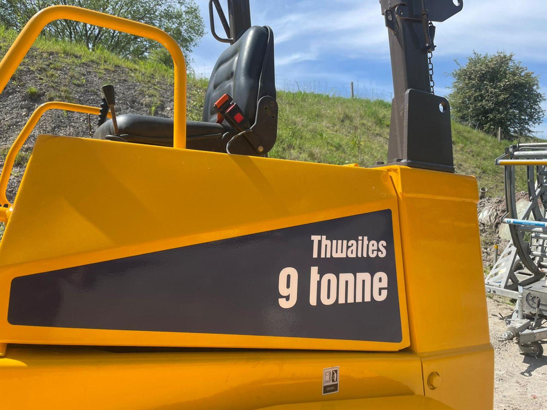 2014 THWAITES 9 TON STRAIGHT TIP DUMPER, 3,104 RECORDED HOURS, 4 WHEEL DRIVE *PLUS VAT* - Image 8 of 10