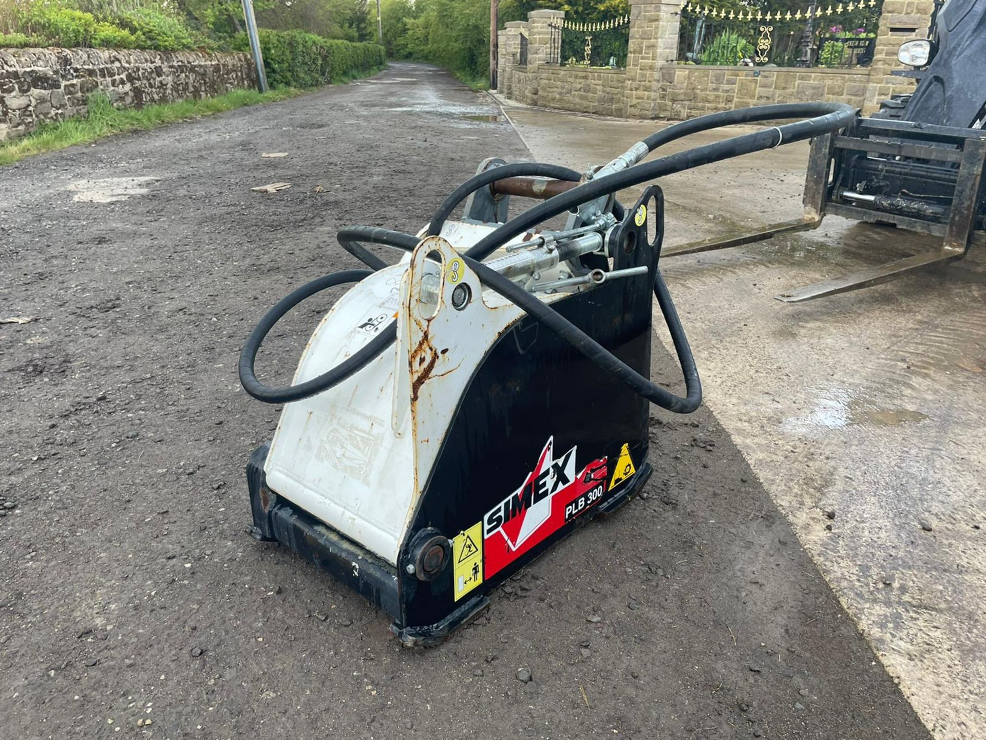 2011 SIMEX PLB 300 ROAD PLANER,HYDRAULIC DRIVEN, NOT DONE MUCH WORK, SUITABLE FOR EXCAVATOR PLUS VAT - Image 2 of 6