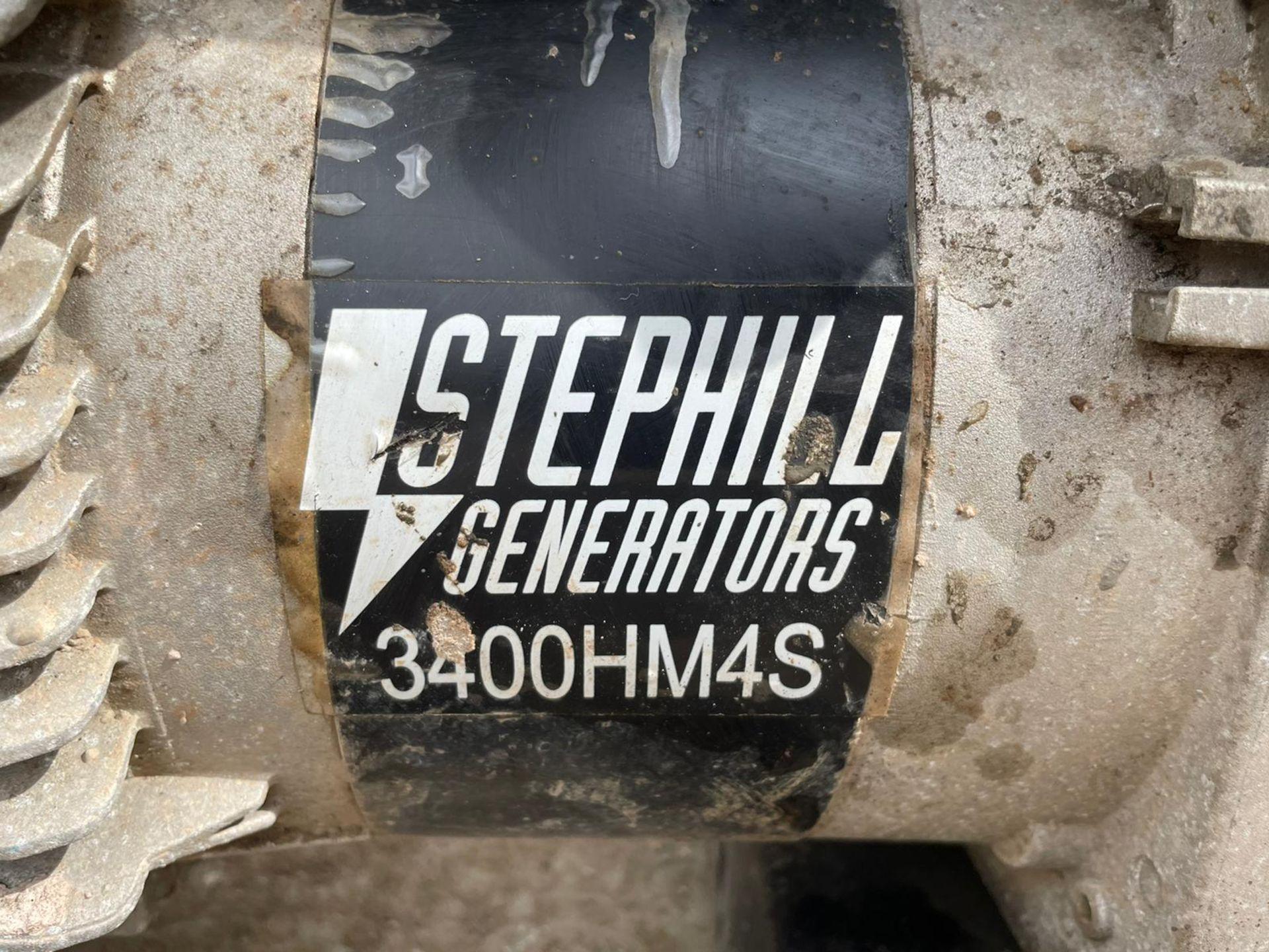 2015 STEPHILL 3400HM4S GENERATOR 3.4KVA, 115 AND 230 VOLTS, HONDA PETROL ENGINE, RUNS *NO VAT* - Image 4 of 4