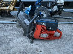 HUSQVARNA K760 OIL GUARD DISC CUTTER, BOUGHT NEW IN 2016, RUNS AND WORKS, NO BLADE *NO VAT*