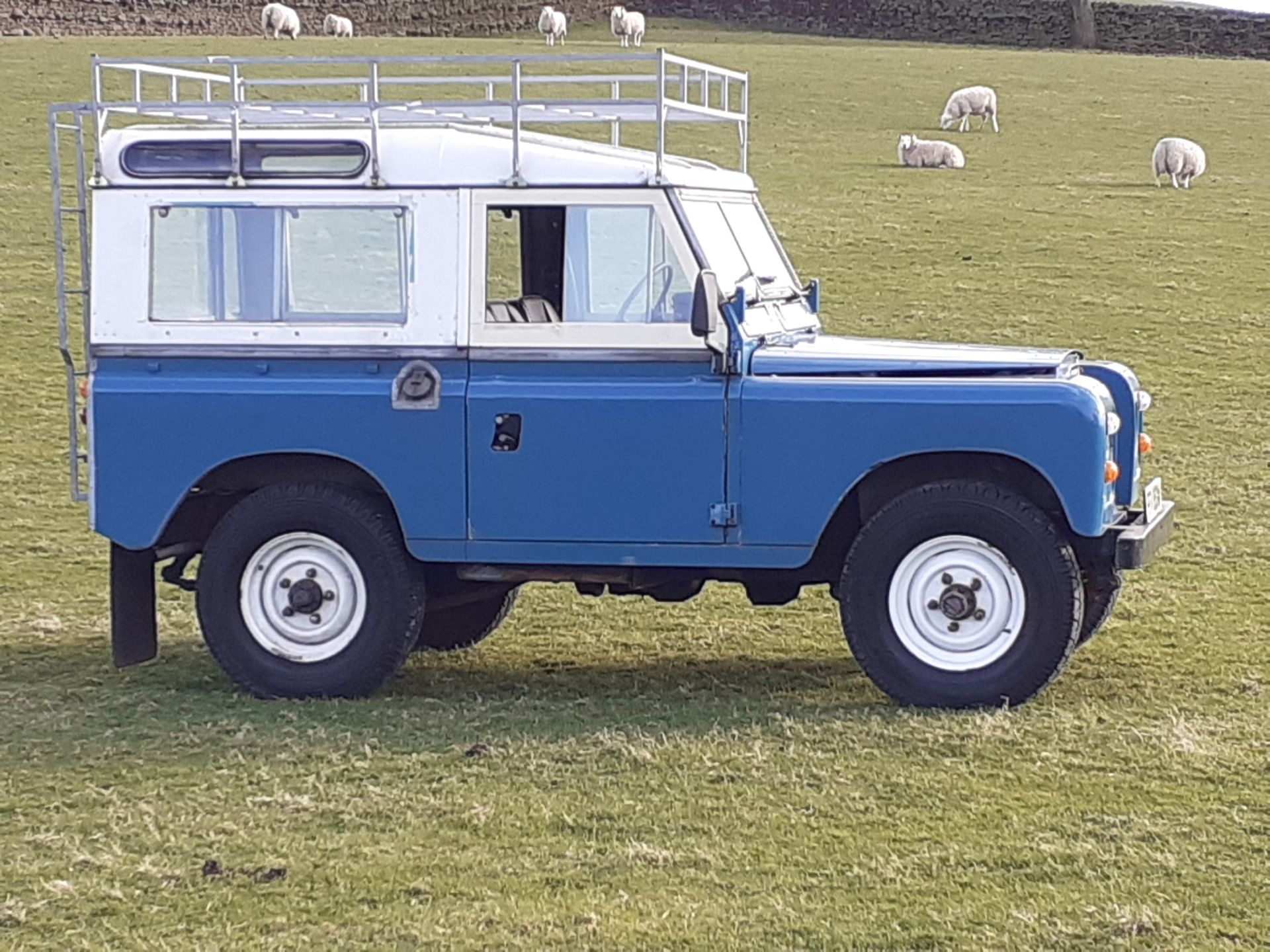 1980 LAND ROVER SERIES III CLASSIC STATION WAGON, TAX AND MOT EXEMPT *NO VAT* - Image 14 of 22