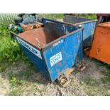 2018 CONQUIP TIPPING SKIP, 2000kg RATED CAPACITY, SUITABLE FOR PALLET FORKS *PLUS VAT*