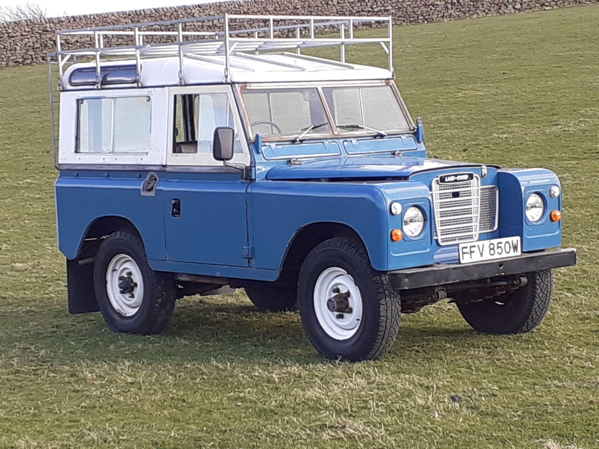 1980 LAND ROVER SERIES III CLASSIC STATION WAGON, TAX AND MOT EXEMPT *NO VAT* - Image 11 of 22