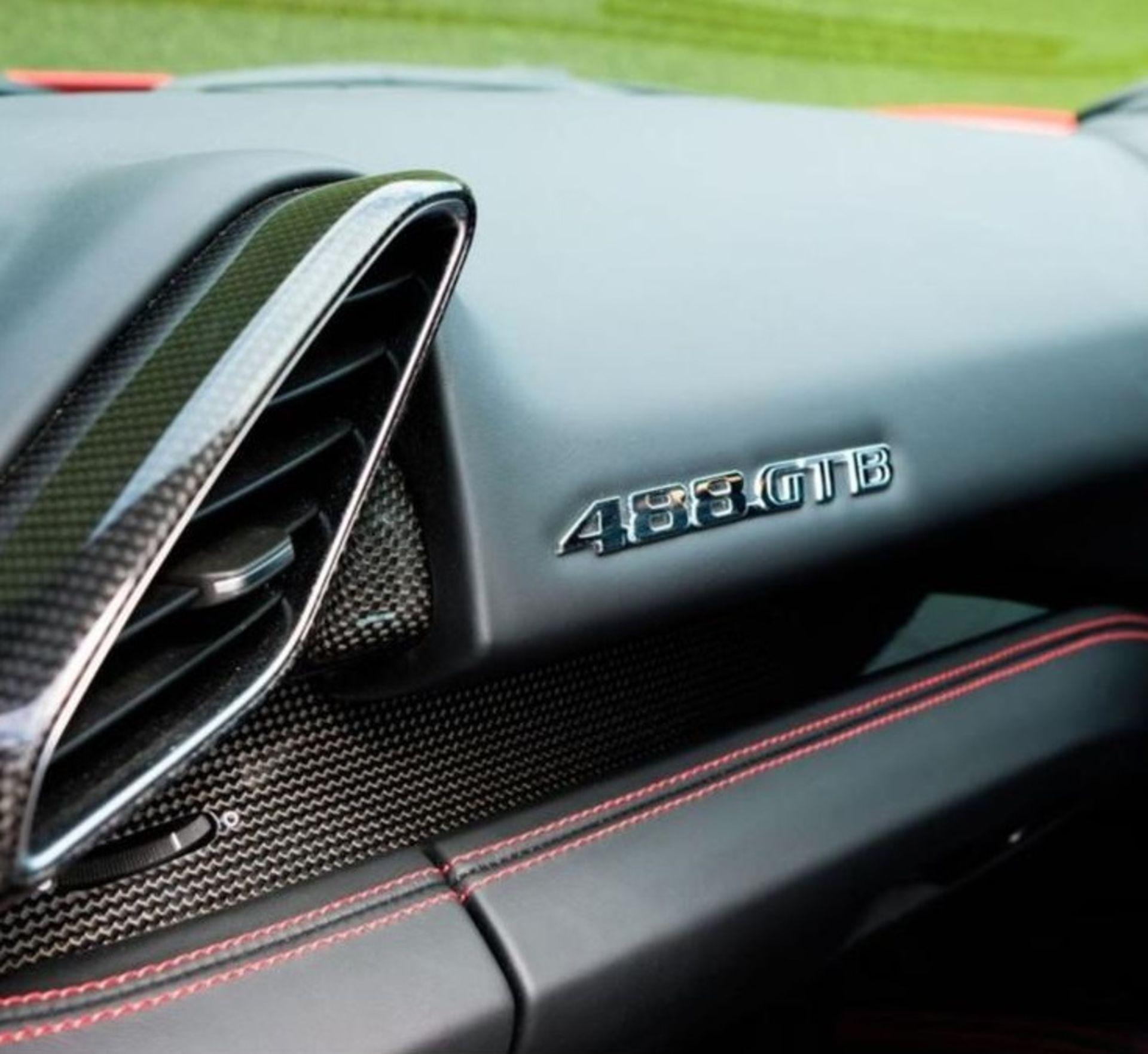 2016 FERRARI 488 GTB 2DR RED COUPE, PETROL, AUTOMATIC, 11K MILES, LEFT HAND DRIVE *NO VAT* - Image 18 of 22
