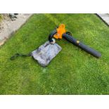McCULLOCH GBV 325 HAND HELD LEAF VACUUM BLOWER, GOOD COMPRESSION *NO VAT*