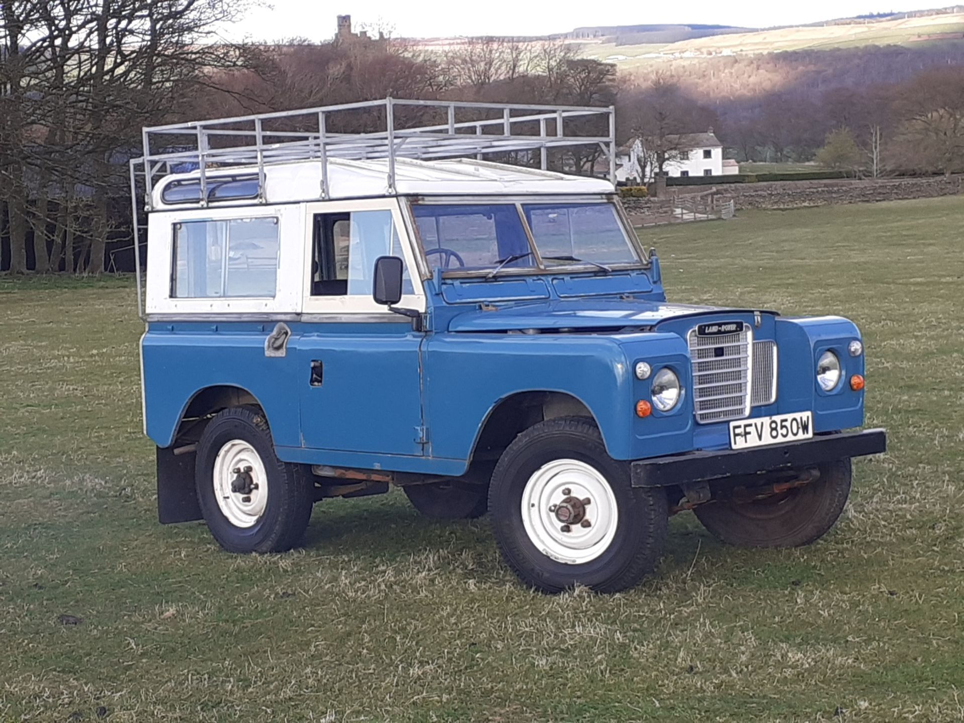 1980 LAND ROVER SERIES III CLASSIC STATION WAGON, TAX AND MOT EXEMPT *NO VAT* - Image 13 of 22