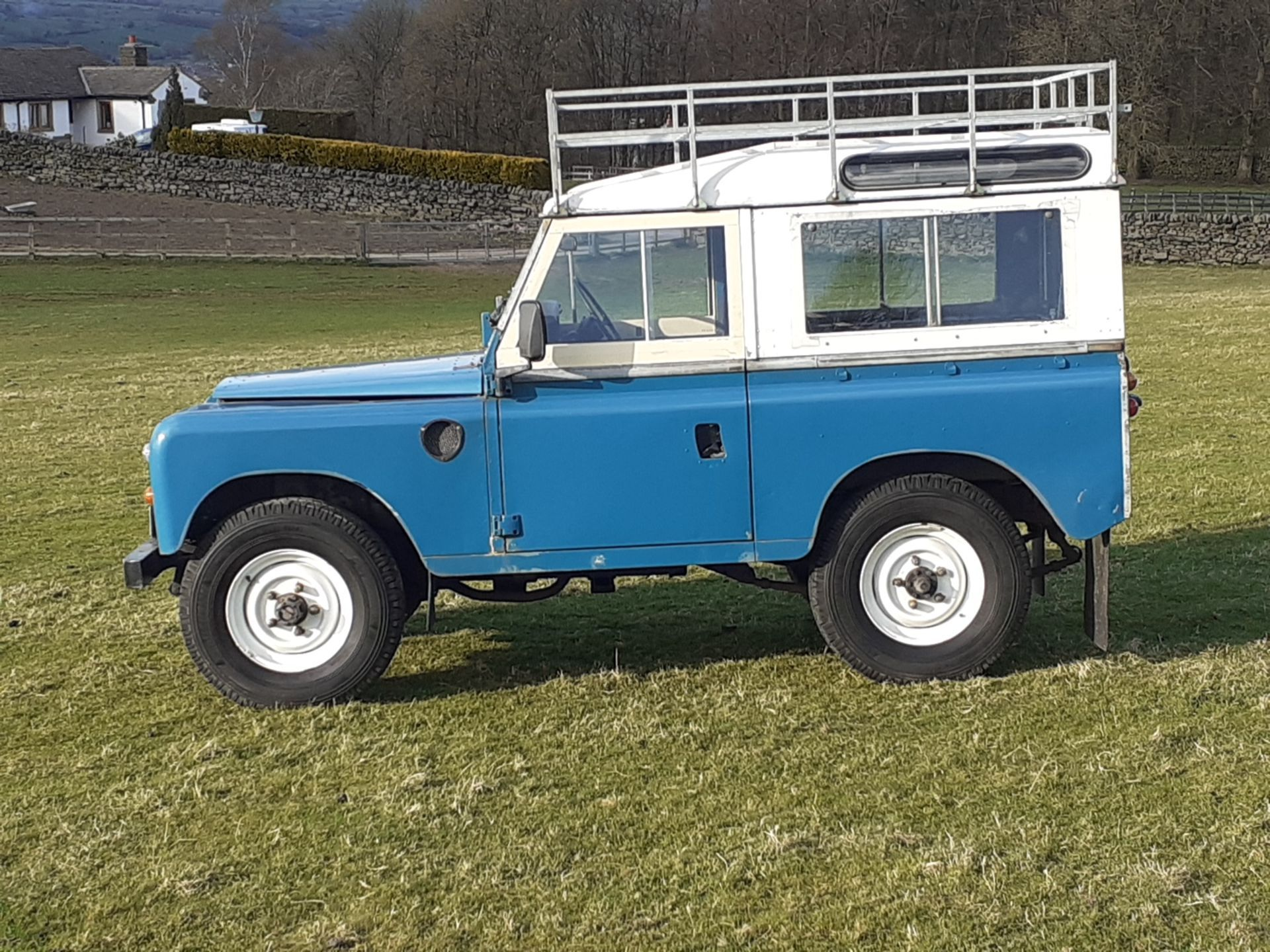 1980 LAND ROVER SERIES III CLASSIC STATION WAGON, TAX AND MOT EXEMPT *NO VAT* - Image 7 of 22