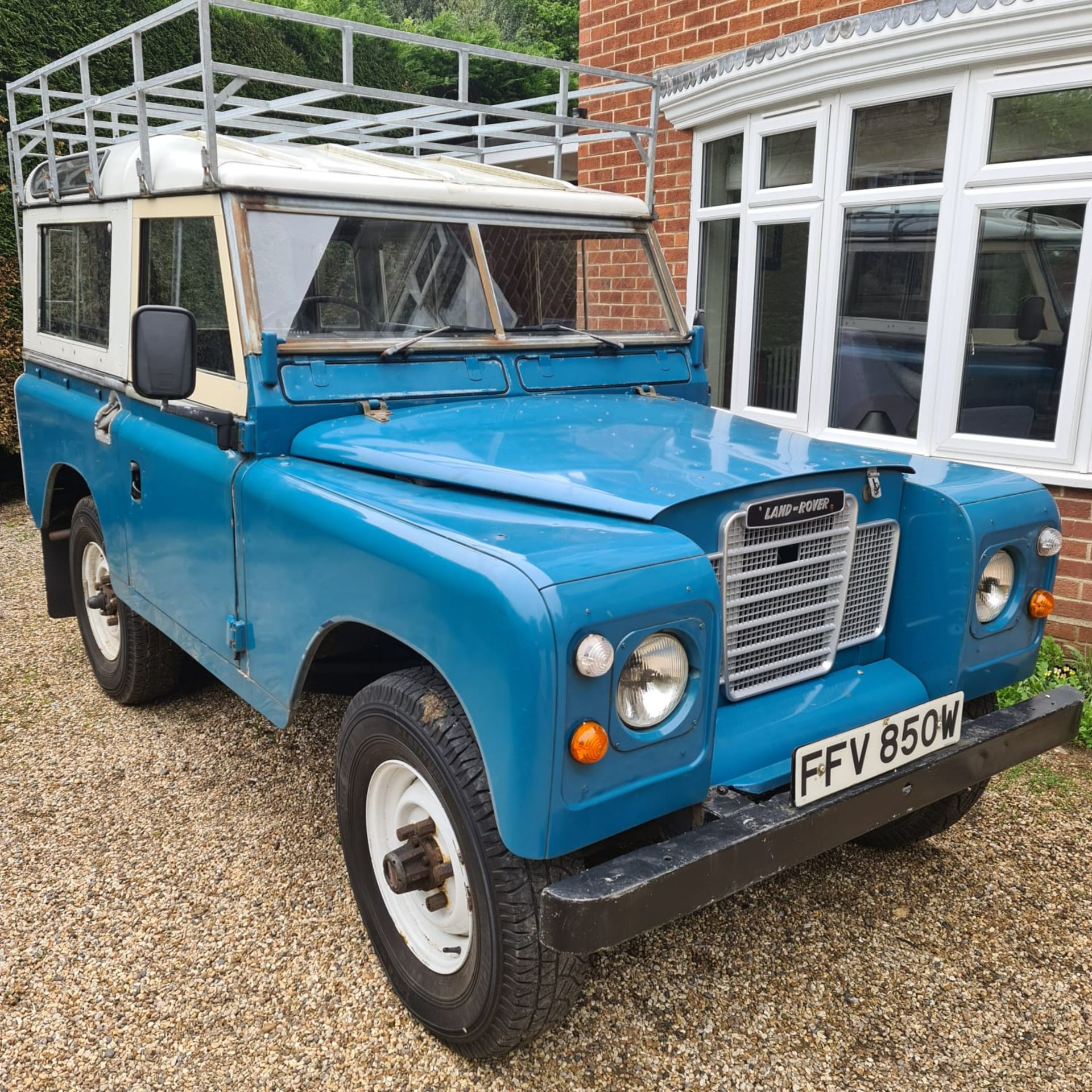 1980 LAND ROVER SERIES III CLASSIC STATION WAGON, TAX AND MOT EXEMPT *NO VAT* - Image 17 of 22