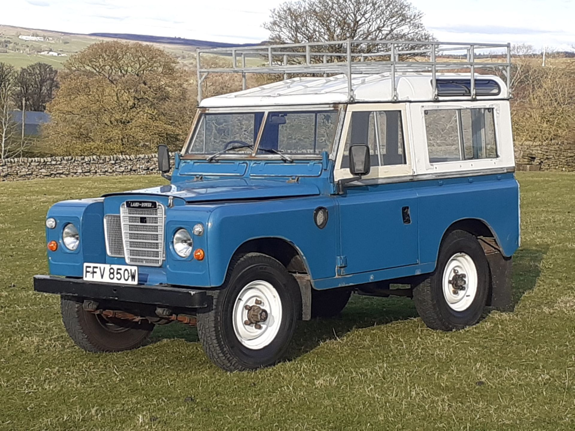 1980 LAND ROVER SERIES III CLASSIC STATION WAGON, TAX AND MOT EXEMPT *NO VAT* - Image 3 of 22