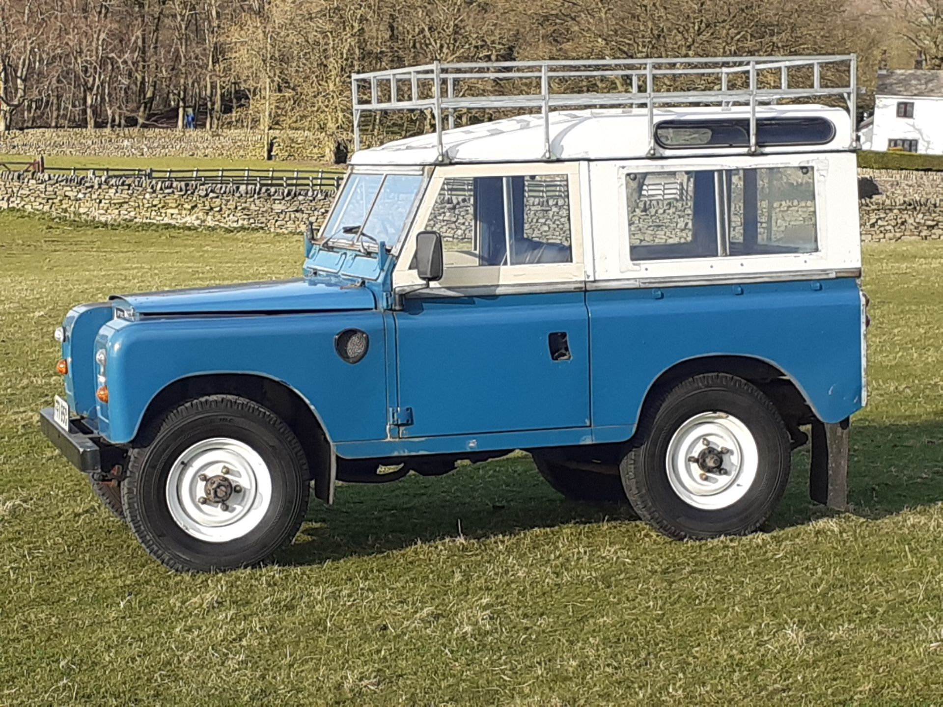 1980 LAND ROVER SERIES III CLASSIC STATION WAGON, TAX AND MOT EXEMPT *NO VAT* - Image 4 of 22