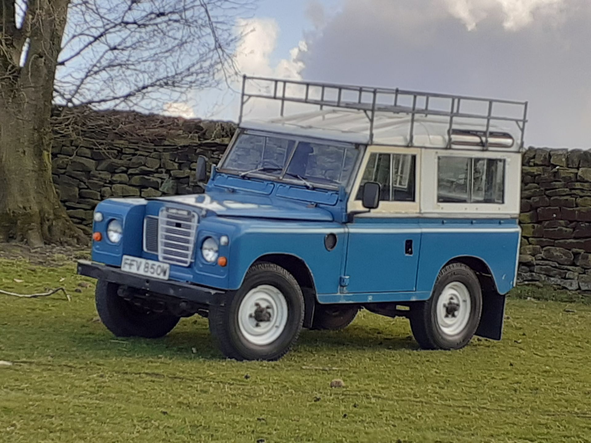 1980 LAND ROVER SERIES III CLASSIC STATION WAGON, TAX AND MOT EXEMPT *NO VAT* - Image 5 of 22